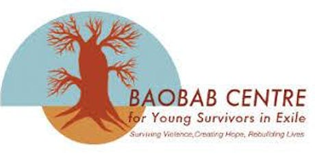 "Baobab Talk Series: ""Treating trauma in former child soldiers in DRC"" tickets"