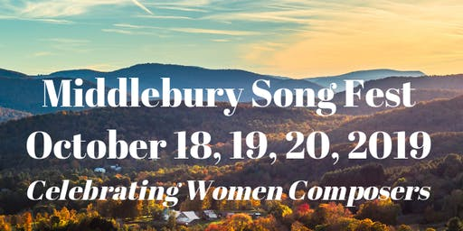 Middlebury Song Fest - An Intimate Salon Performance