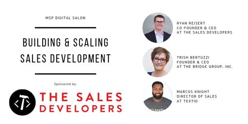 MSP Digital Salon - Building & Scaling Sales Development