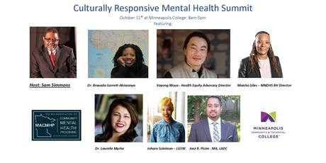Culturally Responsive Mental Health Summit tickets