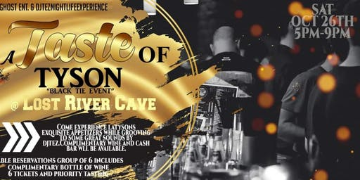 "TASTE OF TYSON DAY PARTY ""BLACK TIE EVENT"""