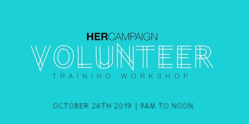 HER Campaign Volunteer Training