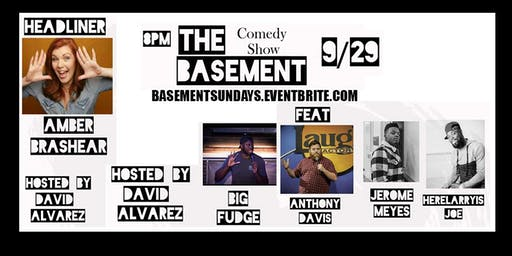 NFL BASEMENT Day & Night Party Sunday Rialto Sept 29th Comedy Show