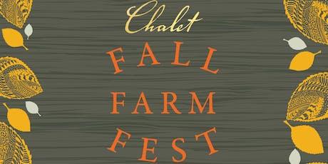 Chalet Fall Farm Fest tickets