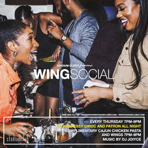 Wing Social Complimentary Wings & Pasta