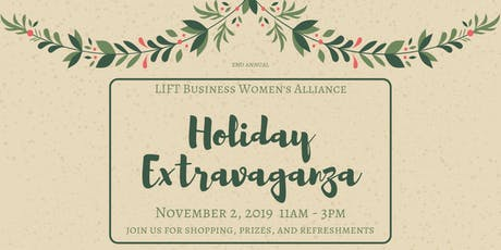 Holiday Extravaganza - Boutique Shopping Event 201 tickets