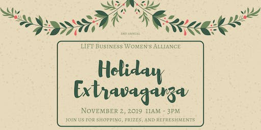 Holiday Extravaganza - Boutique Shopping Event 201