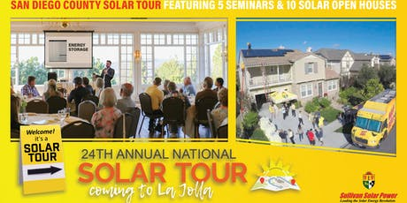 La Jolla Solar Tour tickets
