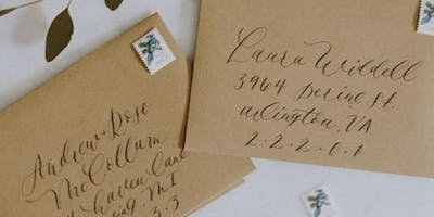 Intro to Modern Calligraphy with Sarahlove Calligraphy