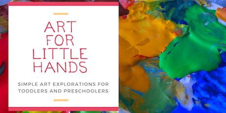 Art for Little Hands tickets