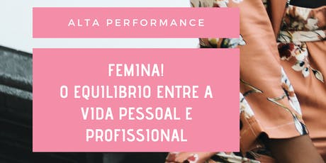ALTA PERFORMANCE FEMININA ingressos