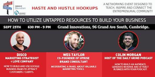 Haste and Hustle Hookups Grand Innovations