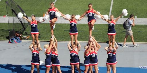 Samford University Cheerleading Clinic (ages 4 - 12)