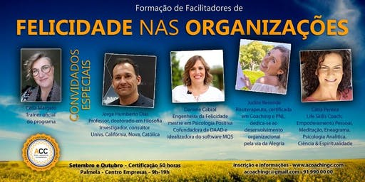 FORMAÇÃO DE FACILITADORES DE FELICIDADE NAS ORGANIZAÇÕES