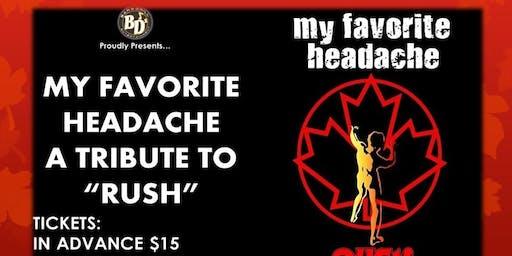 Rush Tribute by MFH