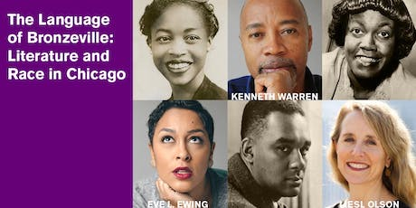 The Language of Bronzeville: Literature and Race in Chicago tickets