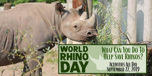 World Rhino Day Barn Tours at Potter Park Zoo