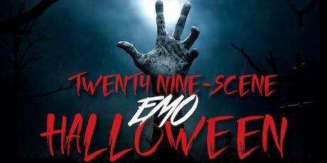 Twenty Nine-Scene EMO Halloween tickets