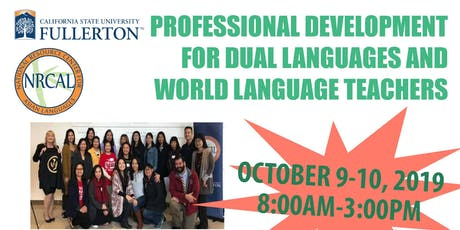 Professional Development for Language Teachers Oct 9-10, 2019 tickets