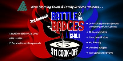 "New Morning's ""Battle of the Badges - 911 Chili Cook-Off"" 2020"