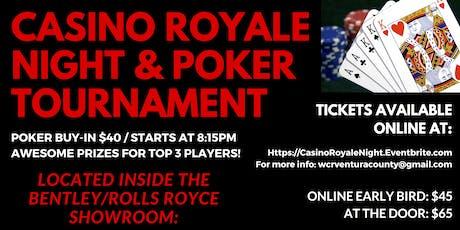 Casino Royale Night & Poker Tournament tickets