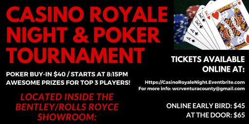 Casino Royale Night & Poker Tournament
