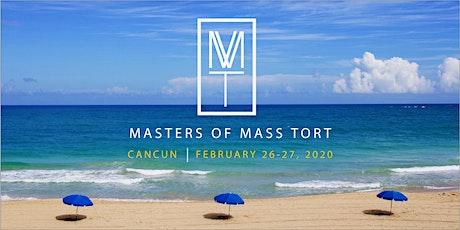 MASTERS OF MASS TORT 2020: Into the Future boletos