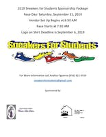 2019 Sneakers for Students 1 Mile Run/Walk & 5k