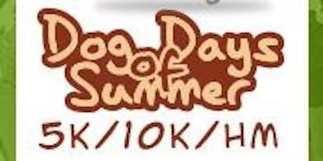 2020 Dog Days of Summer Half Marathon/1M/5K/10K/10M tickets