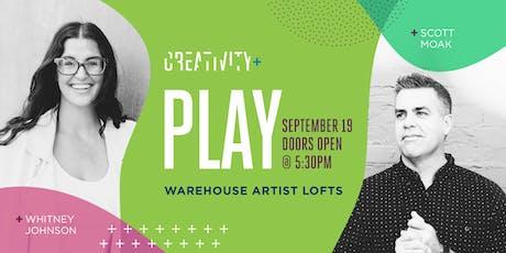 Creativity+Play: Scott Moak & Whitney Johnson tickets