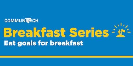 Communitech Breakfast Series: Eat Goals for Breakfast tickets