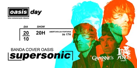 Oasis Day no Grainne's Pub ingressos