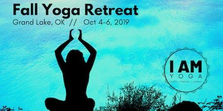 Fall Yoga Retreat - Grand Lake, OK tickets