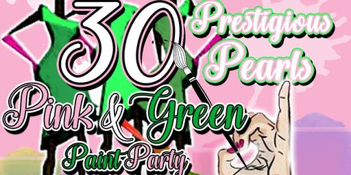 Pink & Green PaintParty