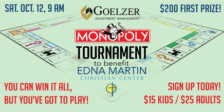 MONOPOLY Tournament tickets