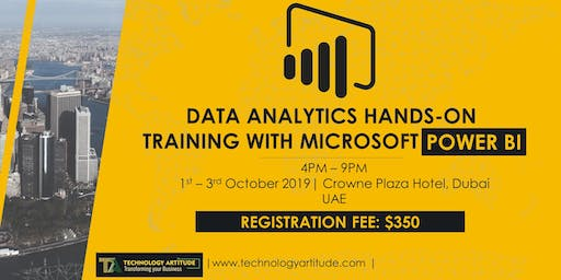 Data Analytics with Power BI Hands-on Training