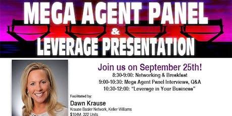 Mega Agent Panel & Leverage Presentation tickets
