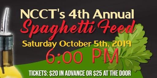 NCCT's 4th Annual Spaghetti Feed Fundraiser