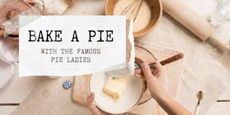 Pie Baking Class tickets