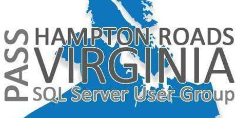 Hampton Roads SQL Server User Group Sept Meeting tickets