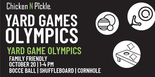 Yard Game Olympics- Family Friendly
