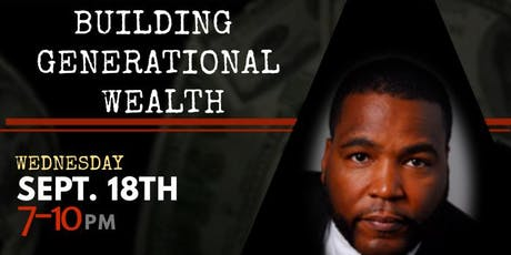 Building Generational Wealth with Dr. Umar Johnson  tickets