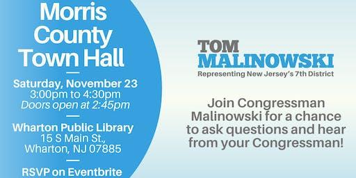 Morris County Town Hall with Congressman Tom Malinowski