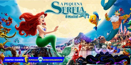 """DESCONTO: """"A Pequena Sereia, O Musical"""" no Teatro BTC ingressos"""
