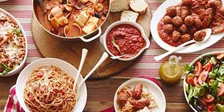 Southern Italian: Cooperative Cooking Experience tickets
