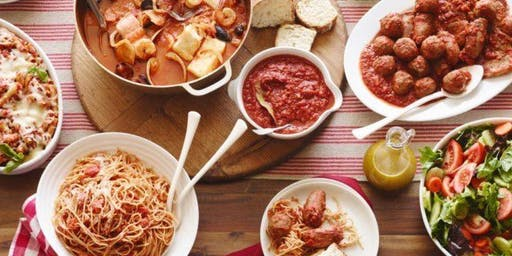 Southern Italian: Cooperative Cooking Experience