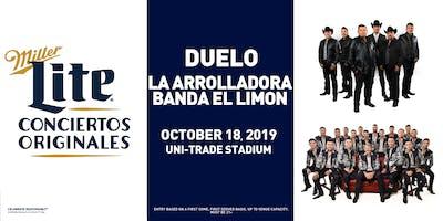 Miller Lite Presents: DUELO + LA ARROLLADORA BANDA EL LIMON - Oct 18 - Laredo, TX