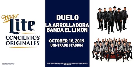 Miller Lite Presents: DUELO + LA ARROLLADORA BANDA EL LIMON - Oct 18 - Laredo, TX tickets