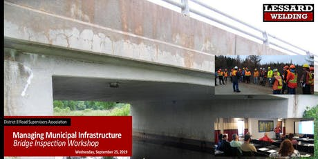 Managing Municipal Infrastructure - Visual Bridge Inspection Workshop tickets
