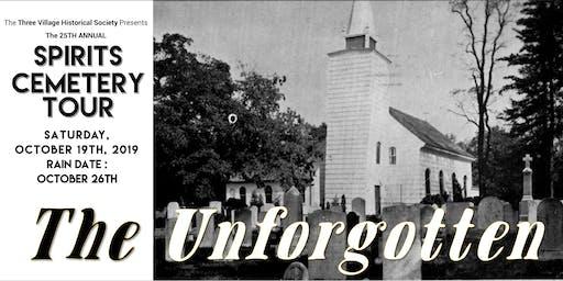 25th Annual Spirits Cemetery Tour in Setauket, NY